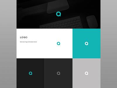 Brand Guidelines design branding logo layout