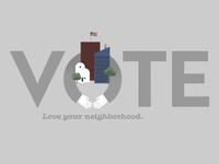 Vote! A Social Media Post