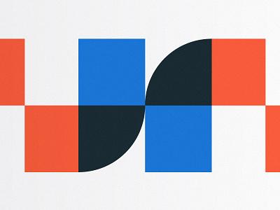 Pattern Exploration agency branding rebrand tech startup exploration modular pattern