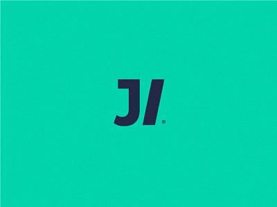 J/ logotype branding agency brand modular mark icon logo