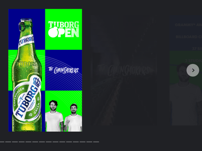 AMP story with Tuborg Open & The Chainsmokers music tuborg webstory story amp