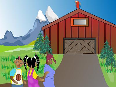 children book design cartoon cartoon illustration cartoon art