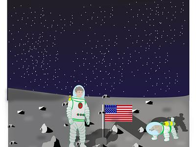 Astronomic illustration illustration children art cartoon illustration cartoon art