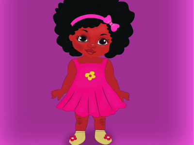 African Illustration cartoon design illustration cartoon art