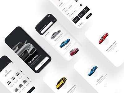 Cars Renting mobile ui design mobile design mobile app design mobile ui ui design uiux