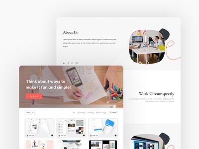 dailyUI Web web ui design uiux