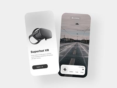Virtual Reality (VR) illustration design mobile design mobile ui design mobile app design mobile ui ui design uiux logo motion graphics graphic design 3d animation ui