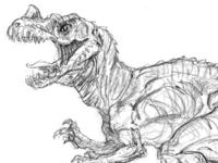 Ceratosaurus Sketch