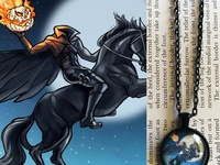 Headless Horseman Pendant