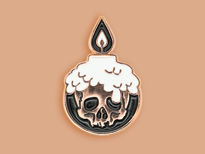 Black Ash Necromancer Pin