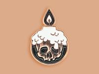 Black Ash Necromancer Pin