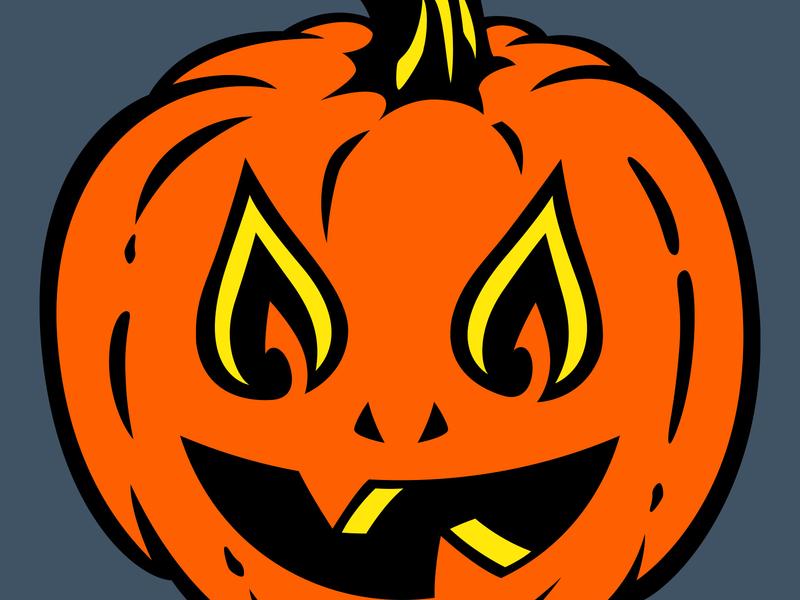 Twin Flame Jack fire flame halloween pumpkin jack o lantern