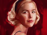 Sabrina Spellman Portrait WIP