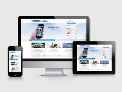 HDFC Bank Corporate Microsite - Responsive hdfc bank corporate microsite responsive website web design graphic flat ui ux