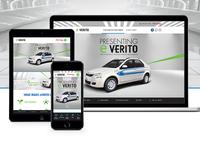 Mahindra eVerito Website Design