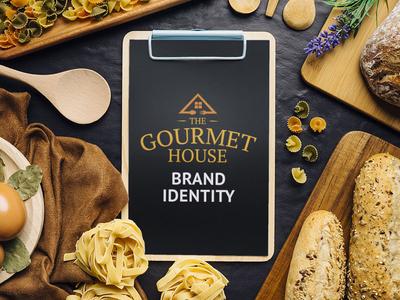 The Gourmet House - Branding & Logo