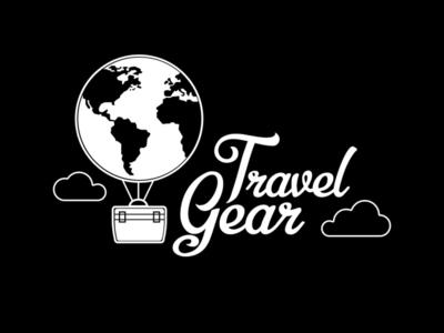Travel Gear - Logo Design design art travel app travelling travel agency traveling designer graphic design illustrator logo design logodesign logotype logos gear travel flat design vector logo