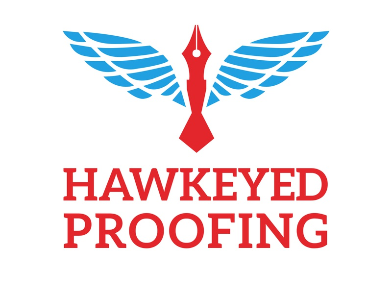 Hawkeyed Proofing - Logo Design branding design brand design brand red blue logoset logodesign logo design logosketch logosai logotype logos icon web branding typography illustration vector logo design