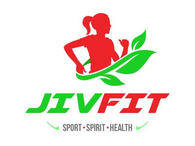 JivFit - Logo Design branding design brand identity brand design brand logosai logosketch logos logo design logodesign logotype typography branding logo vector illustration flat design