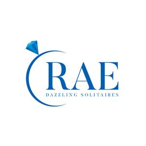 RAE Dazzling Solitaires - Logo Design designer logo branding design brand identity brand design brand designers designer logo design logosketch logodesign logoset logotype logosai logos branding vector illustration design logo