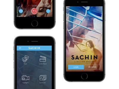 Sachin - Movie App uiux movie interface designer sachin tendulkar sachin mobile app development mobile apps mobile application mobile ui mobile design mobile app design mobile app mobile application ux ui app flat design
