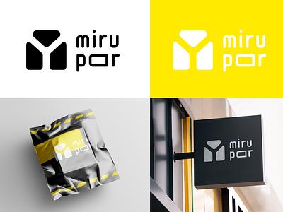 mirupar project illustrator branding logo design