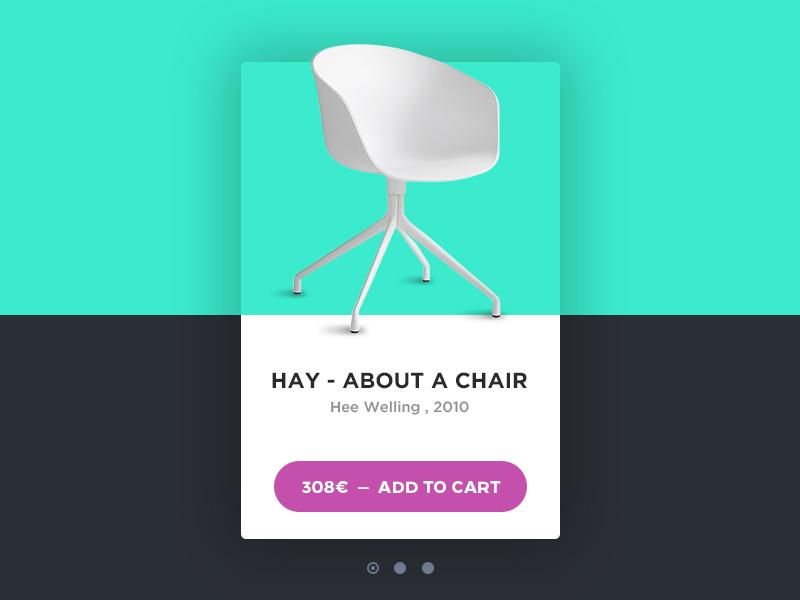 About A Chair material flat minimal montserrat gotham shop furniture chair card ecommerce