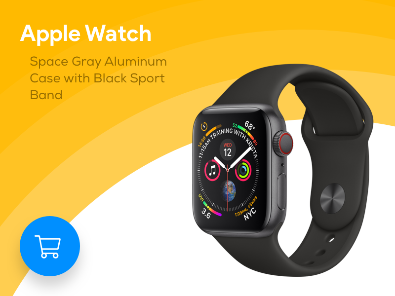 Apple Watch Product Info illustration ads typography colorful google card apple devices material2.0 applewatch apple design flat austria minimal material