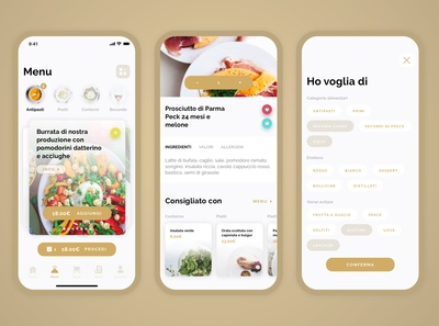 Delivery concept app