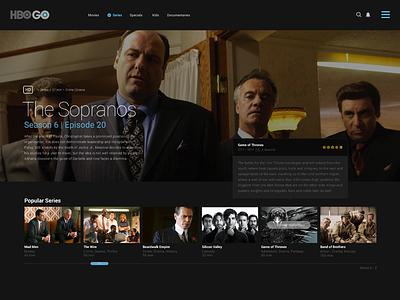 Concept Site design navigation web minimal flat tv interface ui website