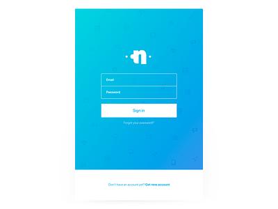 Login Form design interface password sign up sign in ui login form