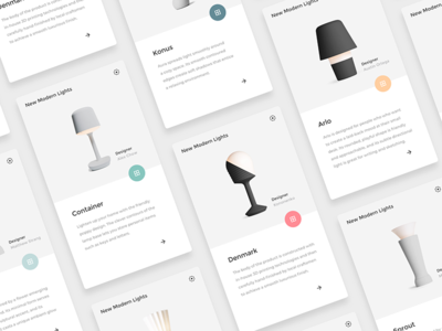 Product Cards • Sketch FREEBIE minimalist clean cards gray ui sketch white freebie interface
