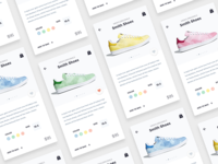 Shoes Store App • Sketch FREEBIE