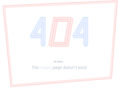 Daily UI 008 404 page