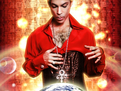 Prince Planet Earth Album Cover