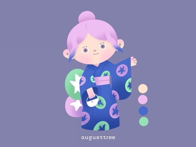 animalcrossing character design purple cute character animalcrossing