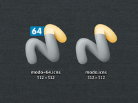 Luxology Modo Icon Replacement