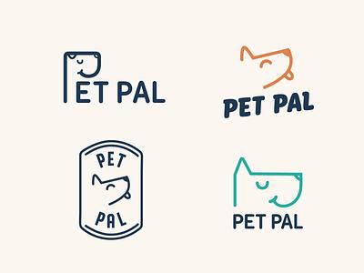 pet logo dog illustration dogs organic pet care pet food dog pet minimalist logo cute illustration