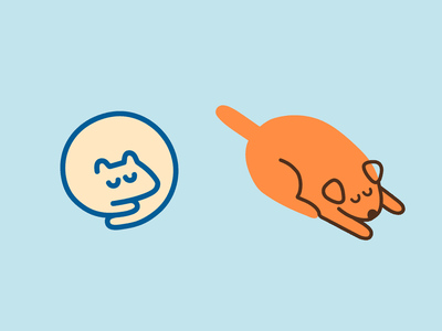 doggos refined cute simple minimalist cartoon dog illustration animal pets dogs dog minimal logo