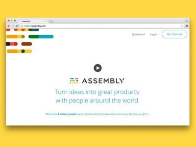 Assembly - Behind the Scenes video assembly html css front end focus lab branding web ux