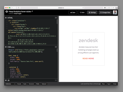 Hover Style (Coded) html css code gradient focus lab front-end development