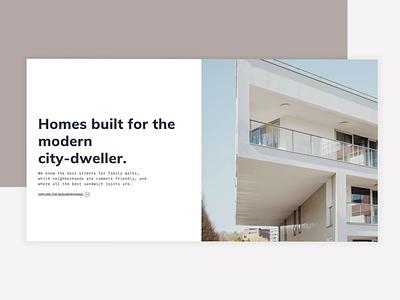 JackBilt Web Experience corporate design real estate development design agency atlanta refined sophisticated craftsman homebuilder homepage design website web design