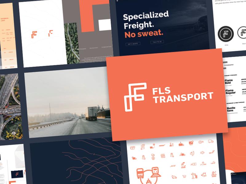 FLS Transport Corporate Identity