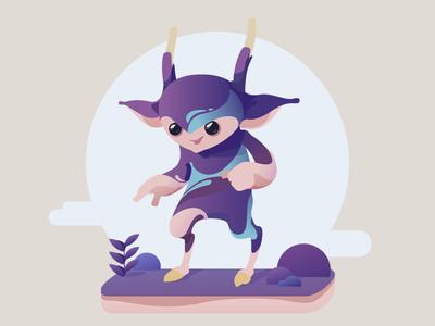 Minion minion fantasy vector illustration art character