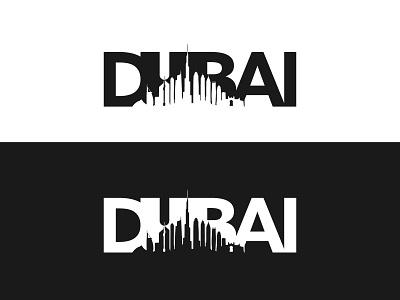 DUBAI Skyscraper clean building logo building 2d skyscraper dubai negative space logo negativespace negative space negative illustration minimal logotype logomaker logo love logo inspiration logo designer logo design logocreator logo