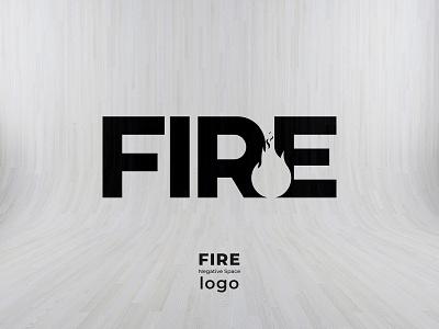 FIRE-NEGATIVE SPACE LOGO flatlogo flatlogodesign flatdesign negative negativespace negative space logo brand identity fire lettermark negative space minimal logomaker logo designer logo design logocreator logo