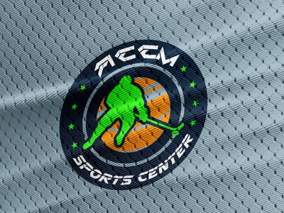 Sports Logo masculine cool design cool logo modern neon athlete branding athlete logo athlete masckott maskot cool hockey ice hockey ice sports branding sports design sports logo sports logo minimal