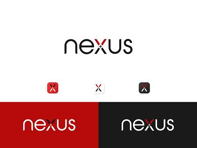 nexus logo design concept clean modern icon corporate client oragization company app ui illustration design logomaker logo inspiration logo designer logo design logo logocreator minimal