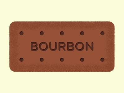 Daily Biscuit Challenge 02 bourbon edges treat snack sweet colour texture rough biscuit vector