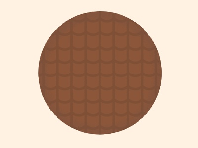 Daily Biscuit Challenge 12 digitaldesign illustration sweet edges texture rough digital biscuit digestive chocolate